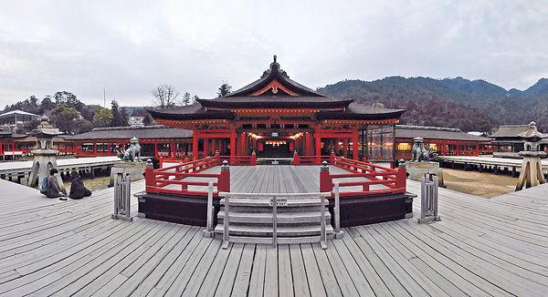 嚴島神社(相片來源:受訪者提供轉載自晴報)
