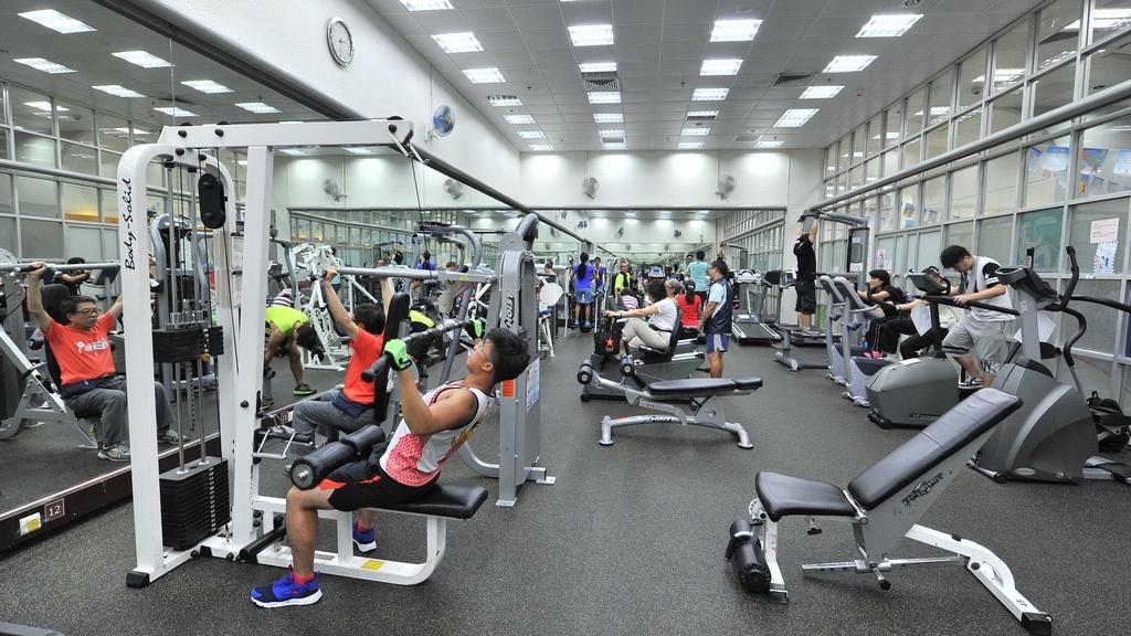 非牟利體育會健身室  價錢實惠不怕被劏