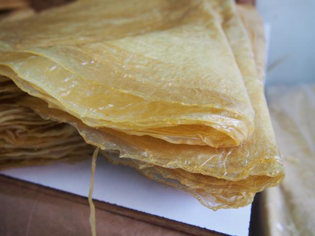 品質好的腐皮表面會有天然油膜。