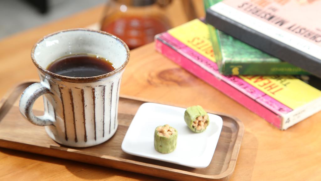 以Ninety Plus咖啡豆沖泡出來的咖啡,味道醇和。(陳智良攝)