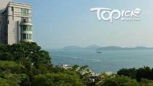 沿摩星嶺徑上山不久,已可俯瞰東博寮海峽無敵海景,貨船往來頻密。(Kin Lau攝)