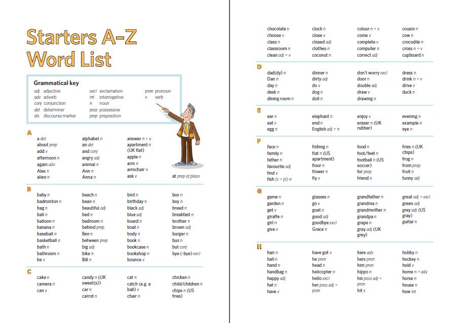 幼稚園生考最初級的劍橋英語試,要記10版英文生字,圖為其中2版。(網上截圖)