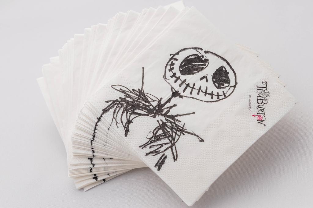 添布頓紙餐巾(主辦單位提供相片)