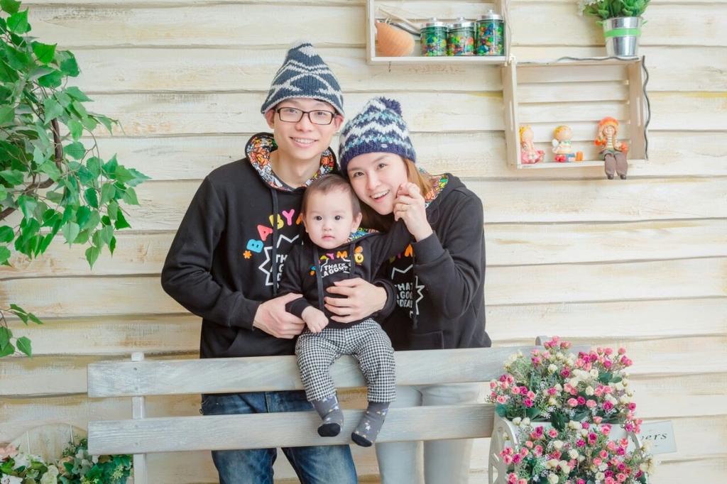 港男Carlos 已移居台灣,並與 Eva 已誕下愛兒,其樂融融。(相片提供︰ Carlos )