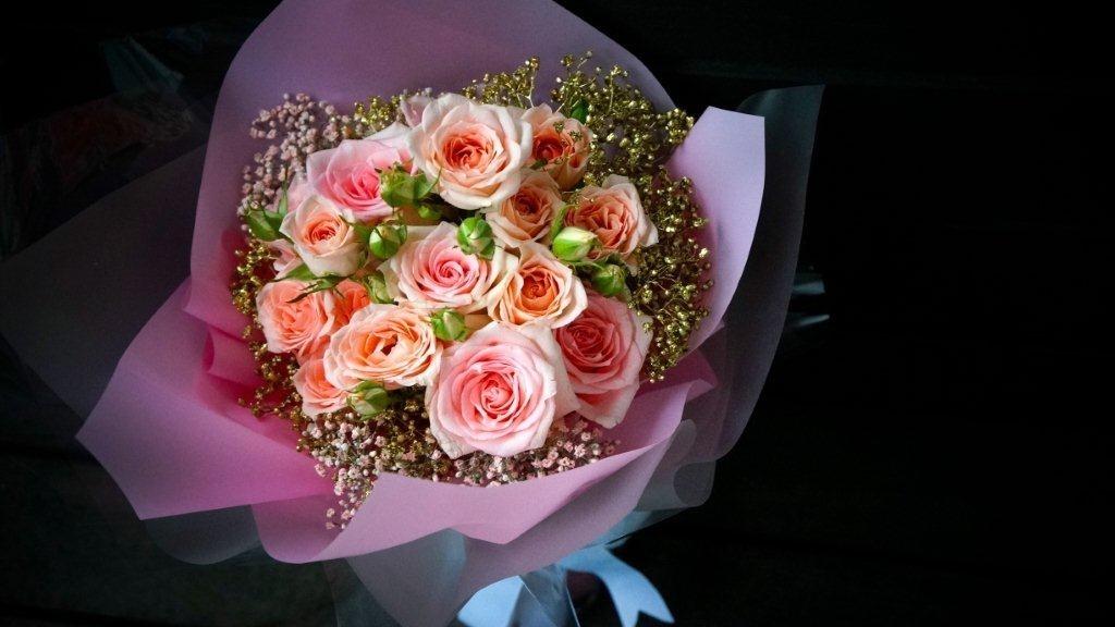 粉色系玫瑰在香港是最穩陣的選擇。(相片提供: Floritale by Jko)