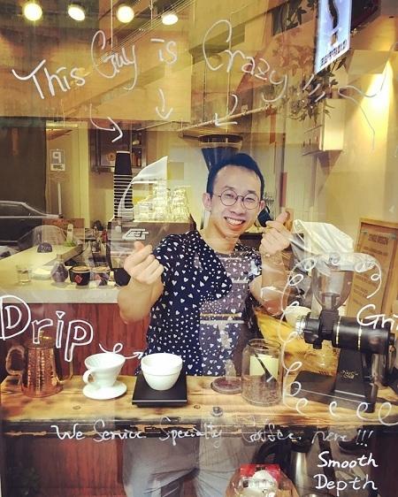 客人可試主動要求自己沖咖啡,店主無任歡迎。(受訪者提供)