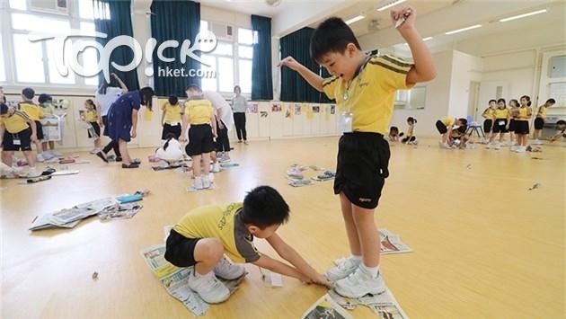香港集思會研究指,推行各種愉快學習的措施後,部分受訪學校在升中派位方面表現理想。(資料圖片)