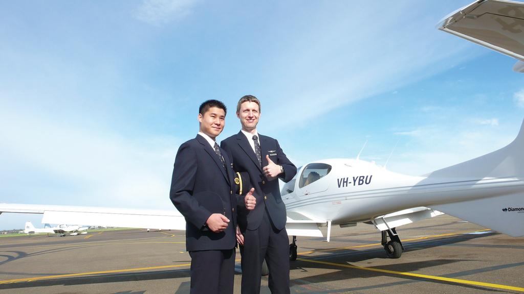 國泰會將學員送到澳洲受訓55星期。(相片來源:經濟日報資料室)
