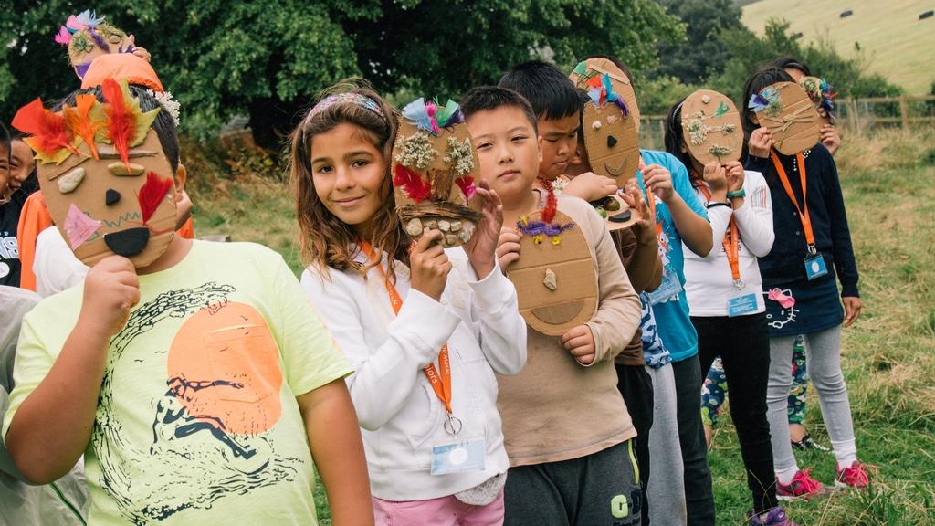 不少家長讓子女參加暑期遊學團,期望孩子在本地升學時有更大優勢,也可為留學打好基礎。(受訪者提供)