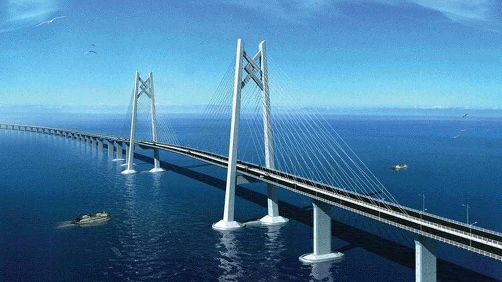 港珠澳大橋隧道合攏爭取年底通車...