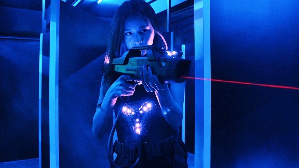 Lasermads 玩外國很流行的雷射槍,非常受年輕人歡迎。(被訪者提供)