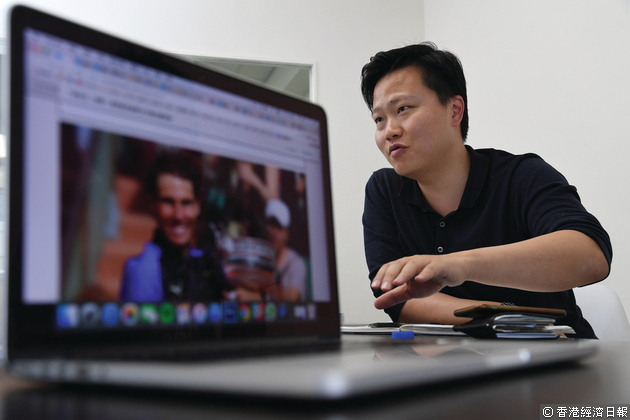 鍾子偉指,未來其香港分部將增加更多原創內容,主要為系列式社區報道。程志遠攝