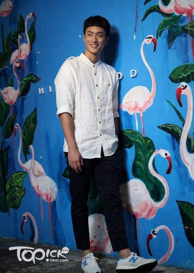 劉俊謙,5年前於於演藝學院畢業,去年7月參與黃子華舞台劇《前度》而廣為人知。(黃建輝 攝)