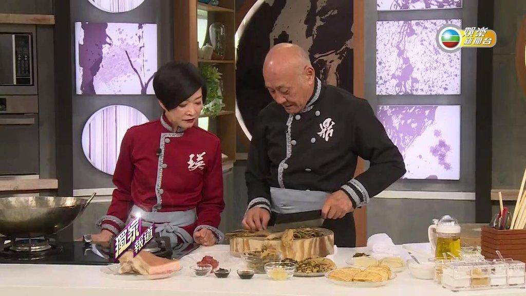 上輯《阿爺廚房》口碑載譽,兩位主持鬧不和的是非亦隨之而來。(網上圖片)