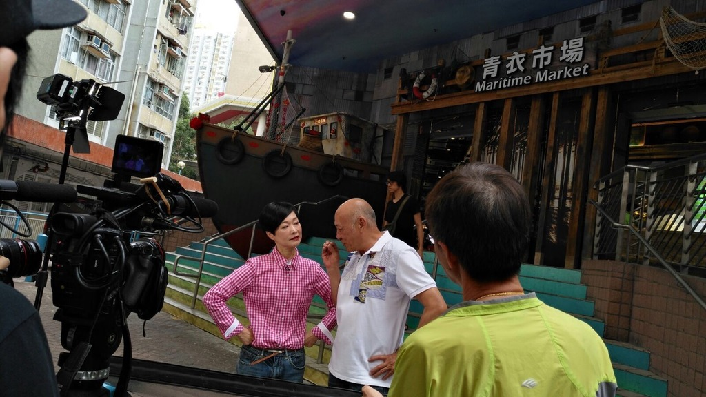 《阿爺廚房》第2輯繼續帶觀眾行勻全港富特色及有新鮮靚食材的街市。(TVB提供)