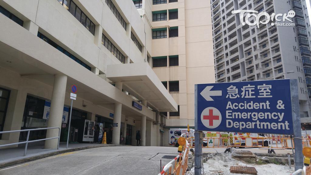 聯合醫院塌樹 救護車未能駛至急症室