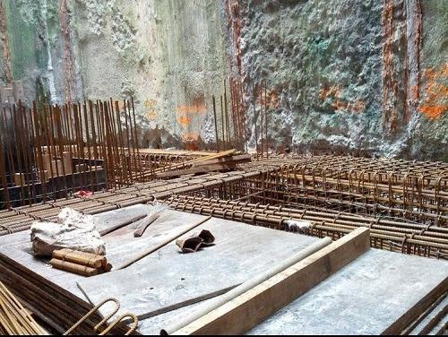 紮鐵是一門力學,是一種隱蔽性的結構,支撐着建築物。(受訪者提供)