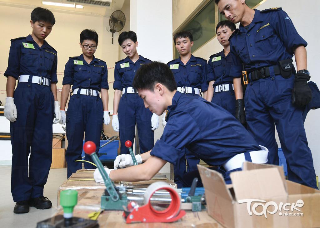 海關最快下月初起進行關員的遴選程序,合格者最快明年4月便可接受為期15周的留宿訓練。(曾耀輝攝)