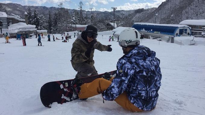令學員真正學會滑雪,要了解他們的能力是很重要的。(受訪者提供)