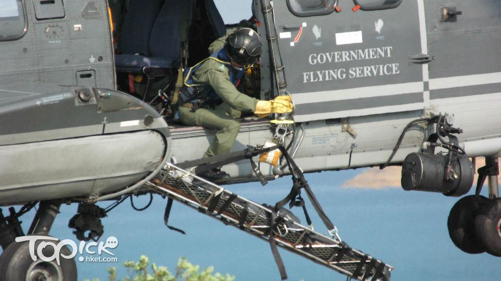 飛行服務隊的職責除了搜索拯救、空中救護、撲滅山火、海上保安之外,也會利用設有高像素航空攝影機的飛機支援地政總署繪製地圖和相關空中測量工作。(圖片來源:經濟日報圖片庫)