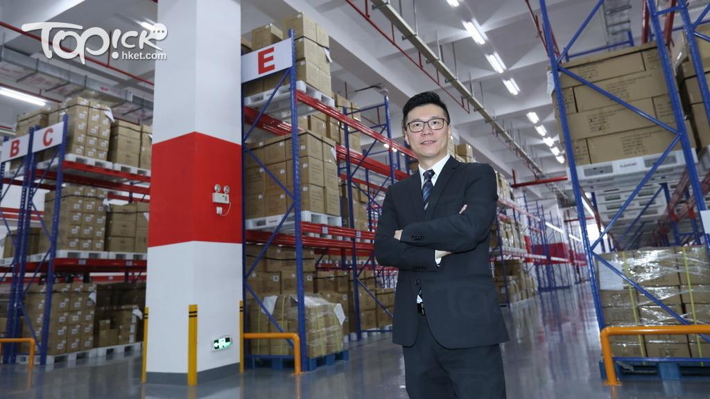 Flexport 亞洲董事總經理高學亨表示,  開設鹽田海運倉庫,是公司發展全方位海陸空物流的策略之一。(黃建輝攝)