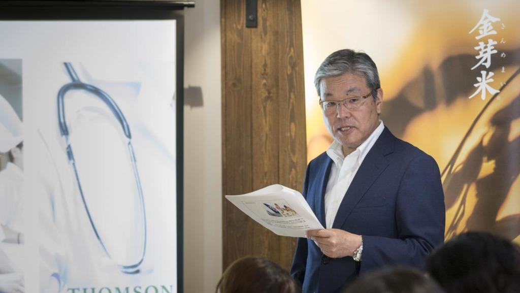 東洋大米株式會社規劃部總監兼總經理関博行指,計劃與香港的酒店、學校及醫院合作。