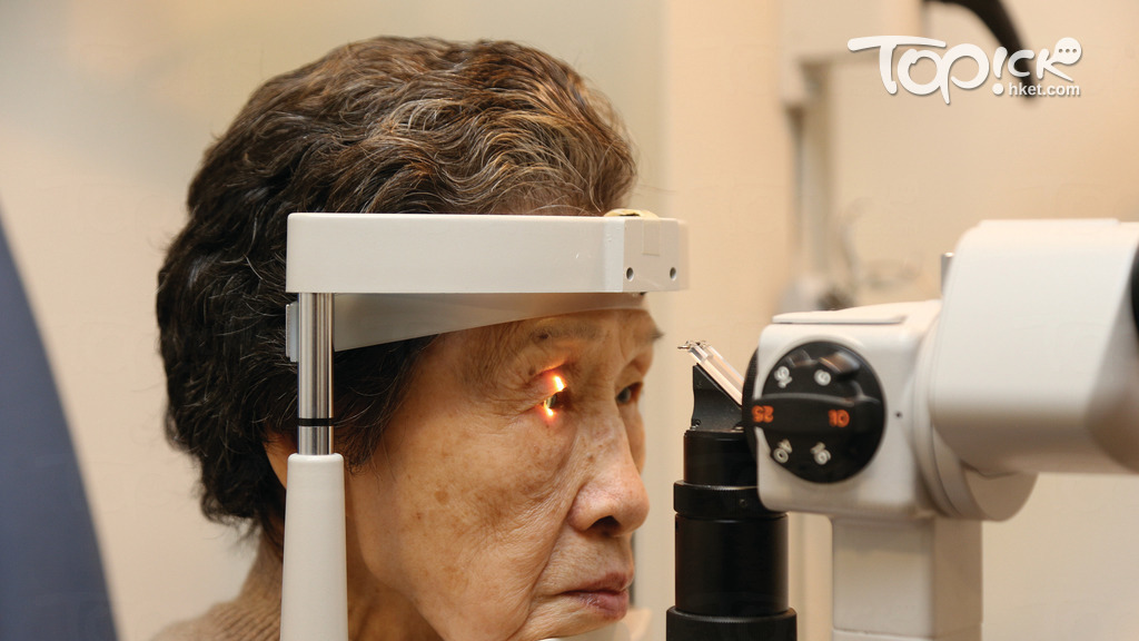老年黃斑部病變是長者最常見的眼科疾病之一。(經濟日報資料圖片)