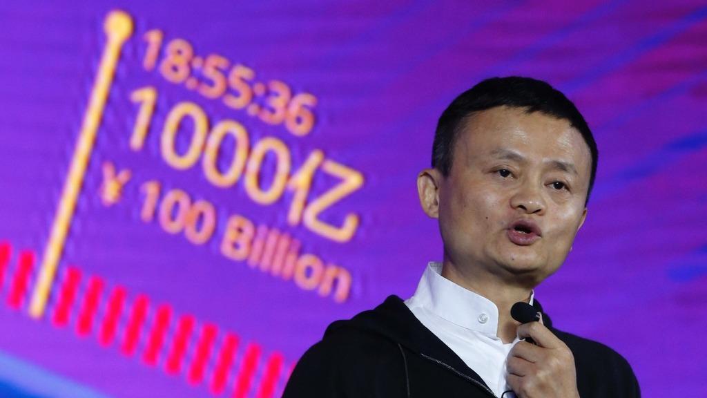 阿里巴巴集團董事局主席馬雲宣布明年9月10日退任,他曾提到新零售是未來全球趨勢。(圖片來源:新華社)