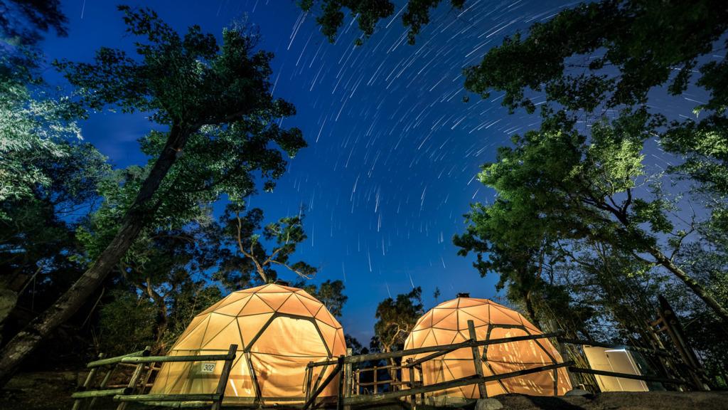 長洲的西園的觀星圓拱屋是賞星好地方。(圖由阿零photographerling.com提供)