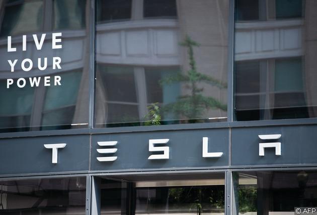 Tesla實習生雖只有時薪26美元(約200港元),但舊實習生反映,可跟隨聰明、有魅力和無私的同事學習,並體驗Tesla的典型工作日。(法新社資料圖片)