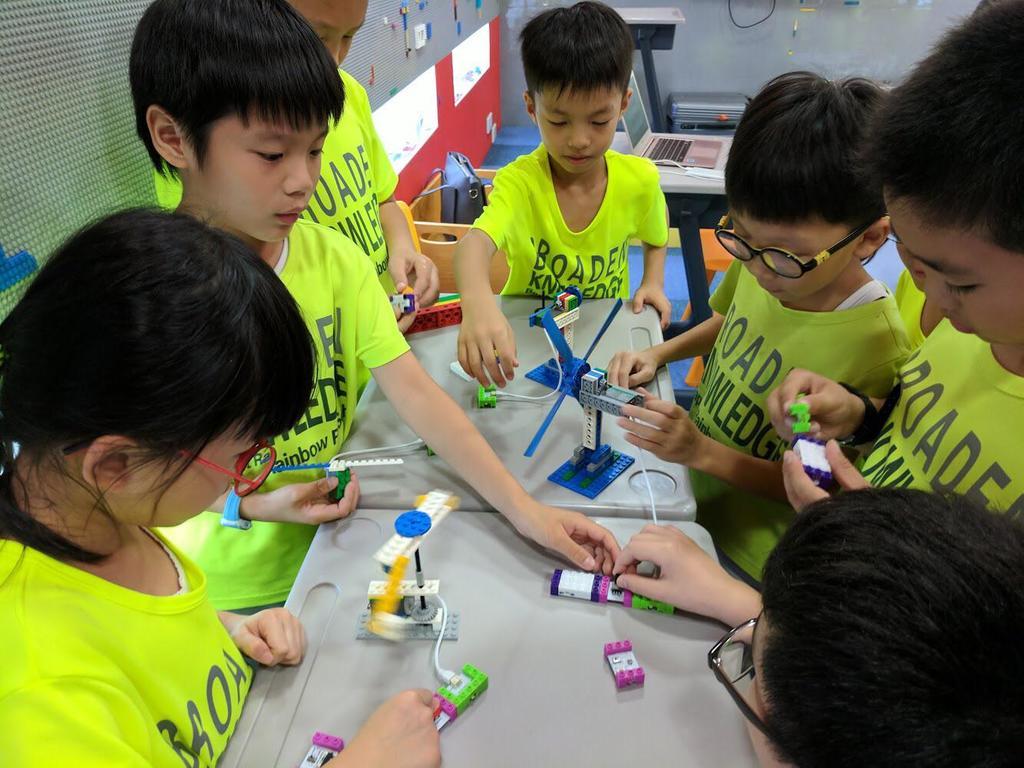 天虹推動各種創新科技教學。(受訪者提供)