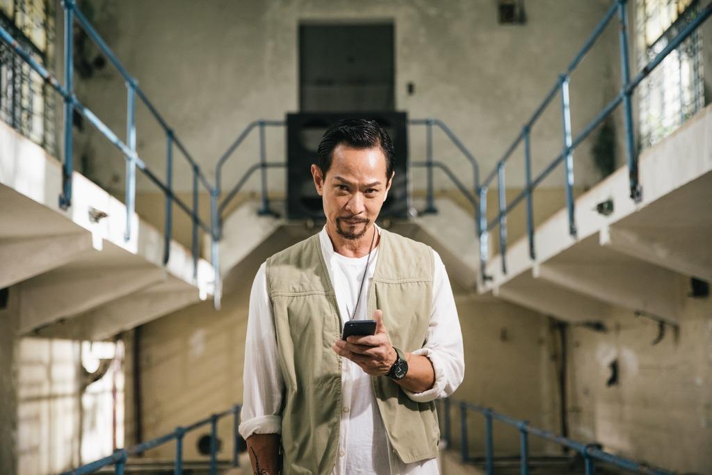 吳廷燁在《鐵探》中飾演黑幫大佬。(《鐵探》劇照)