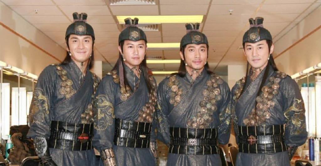 陳鍵鋒、馬國明、吳卓羲、林峯主演《少年四大名捕》已是劇迷集體回憶。