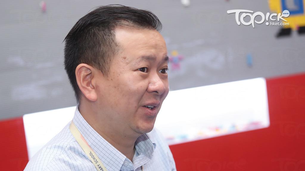 浸信會天虹小學校長的馮耀章認為,小學生全日遙距上課不太可行。(資料圖片)