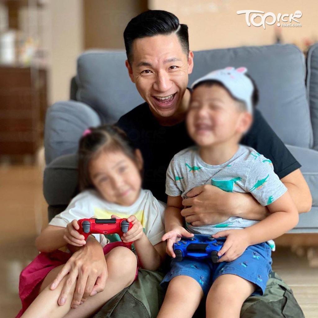 柳俊江與太太育有一子一女。(取自IG)