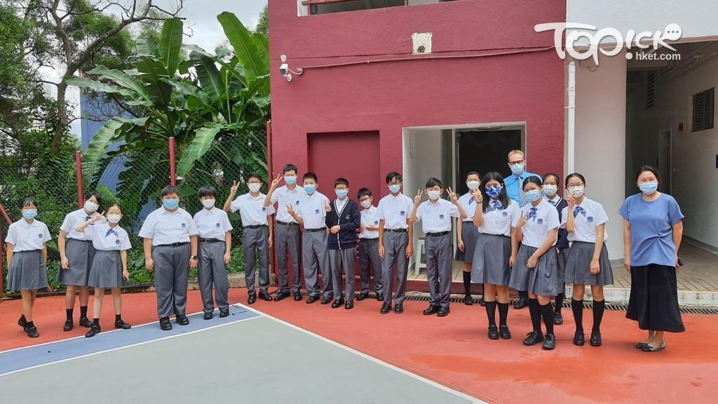 徐飛形容大光德萃書院是國際化私立學校。(相片由受訪者提供)