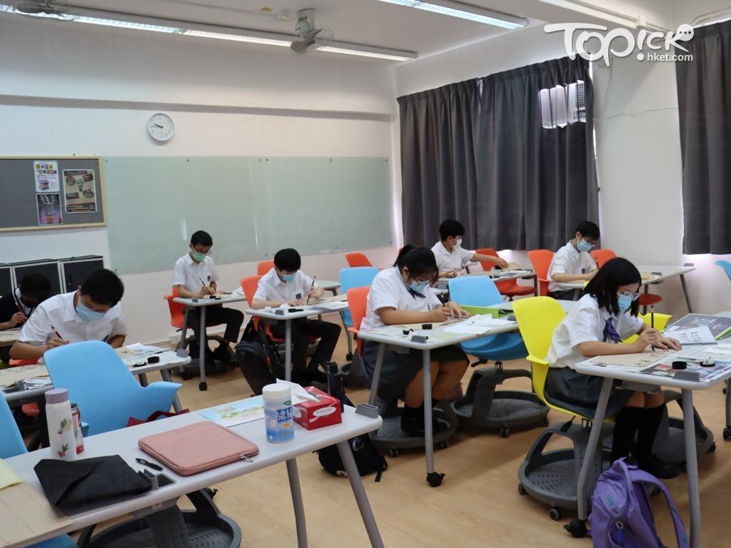 學校提供IBDP及GCE A Level雙軌課程,配合學生不同的學習需要。(相片由受訪者提供)