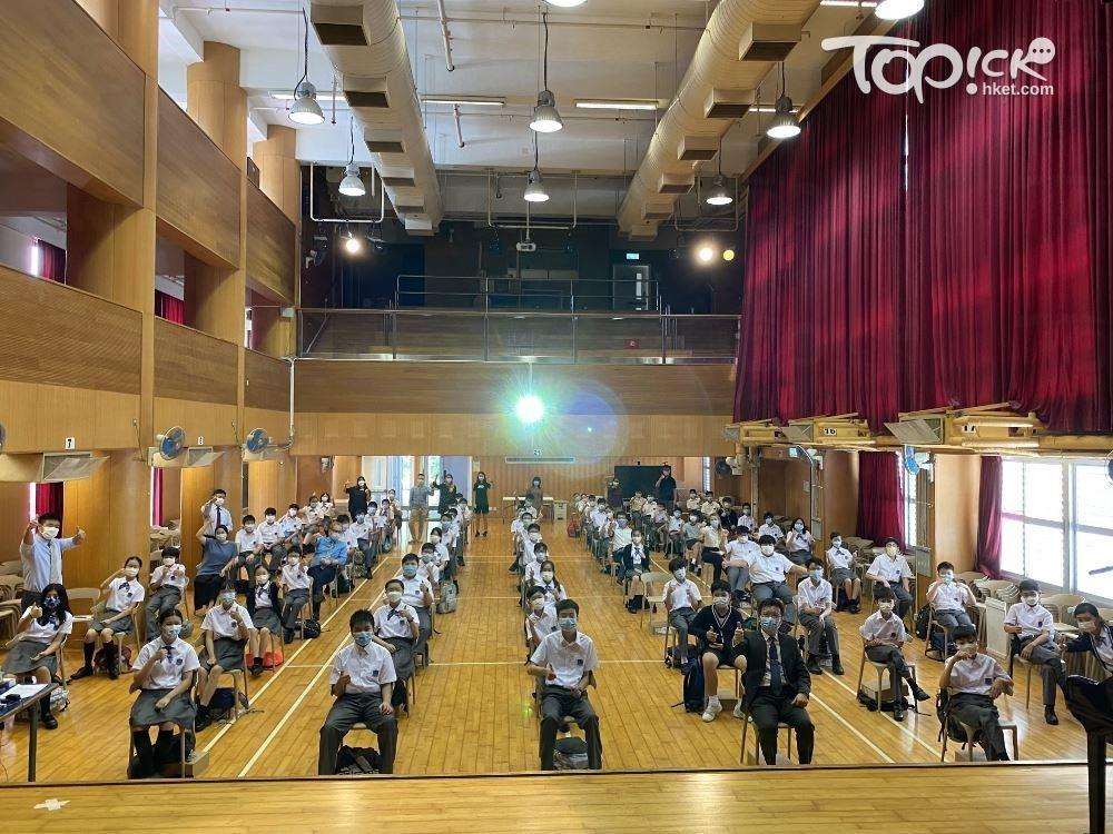 禮堂可容納約500個座位。(相片由受訪者提供)