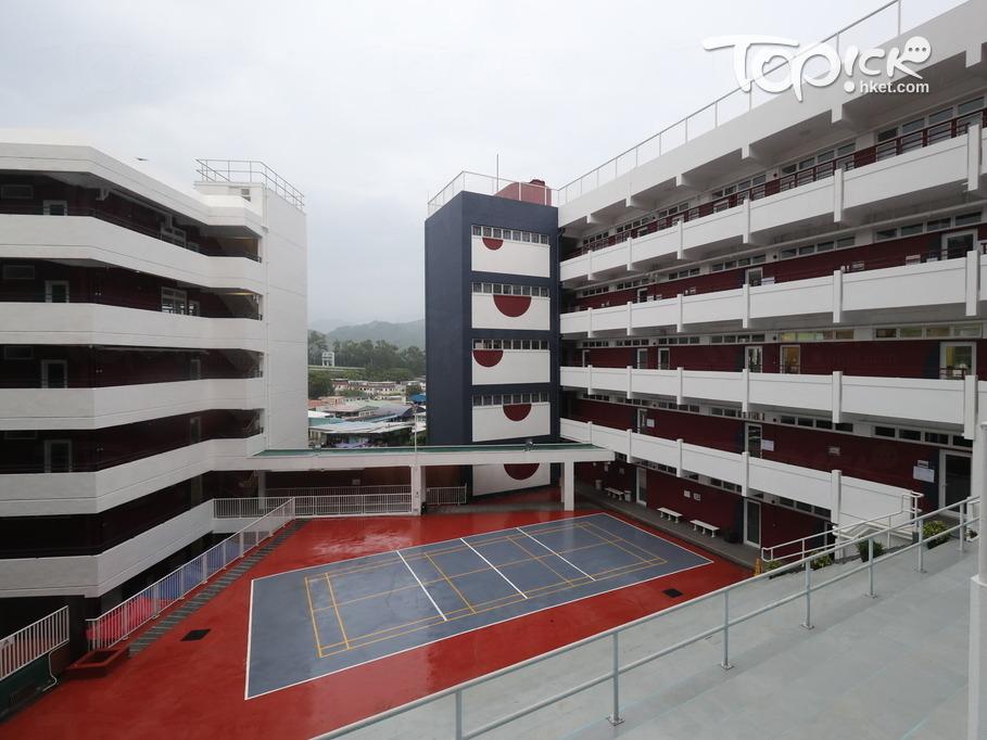 校舍主要由教學大樓、創新科技大樓及行政綜合大樓組成。(黃建輝攝)